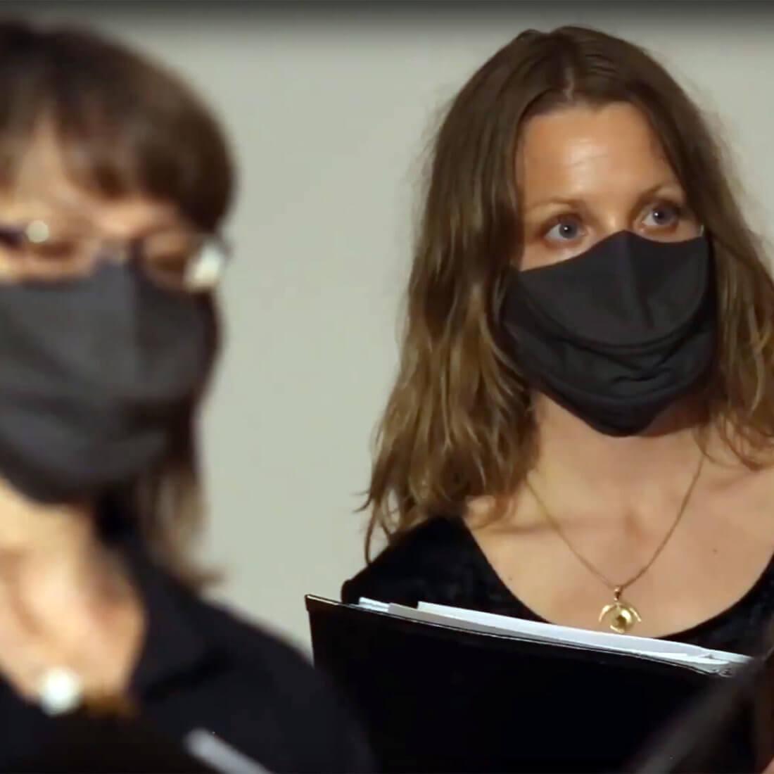 Custom singing masks